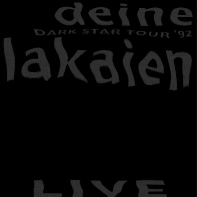 Deine Lakaien - Dark Star Live Artwork by:  Artwork by Stig Harder