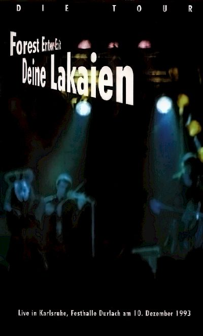 Deine Lakaien - Forest Enter Exit - Live VHS-Video Artwork by:  Artwork by Stig Harder, Carl Erling