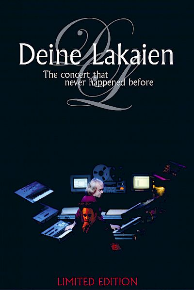 Deine Lakaien - The Concert That Never Happened Before Live-DVD Artwork by:  Artwork by Carl Erling