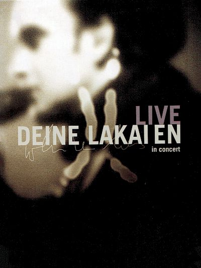 Deine Lakaien - Live in Concert DVD Live-DVD Artwork by:  Artwork by Joerg Grosse-Geldermann